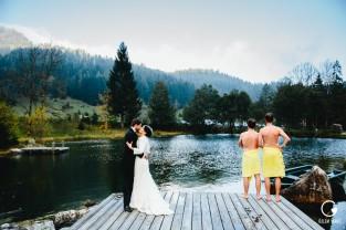 Hochzeit, Feuriger tatzlwurm, Bayrischzell