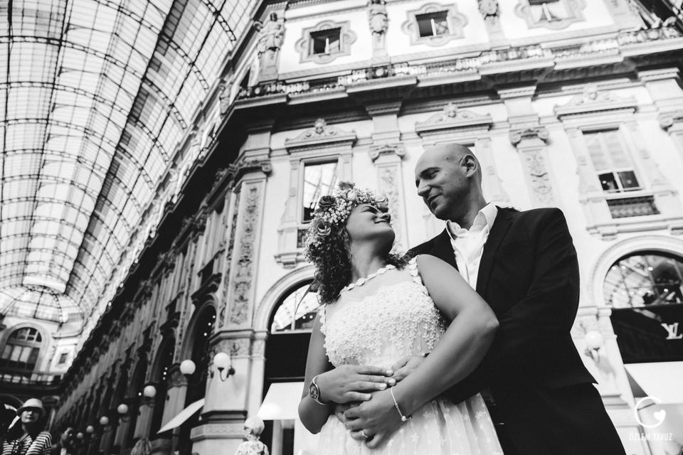 Milano, Hochzeit Shooting in Mailand